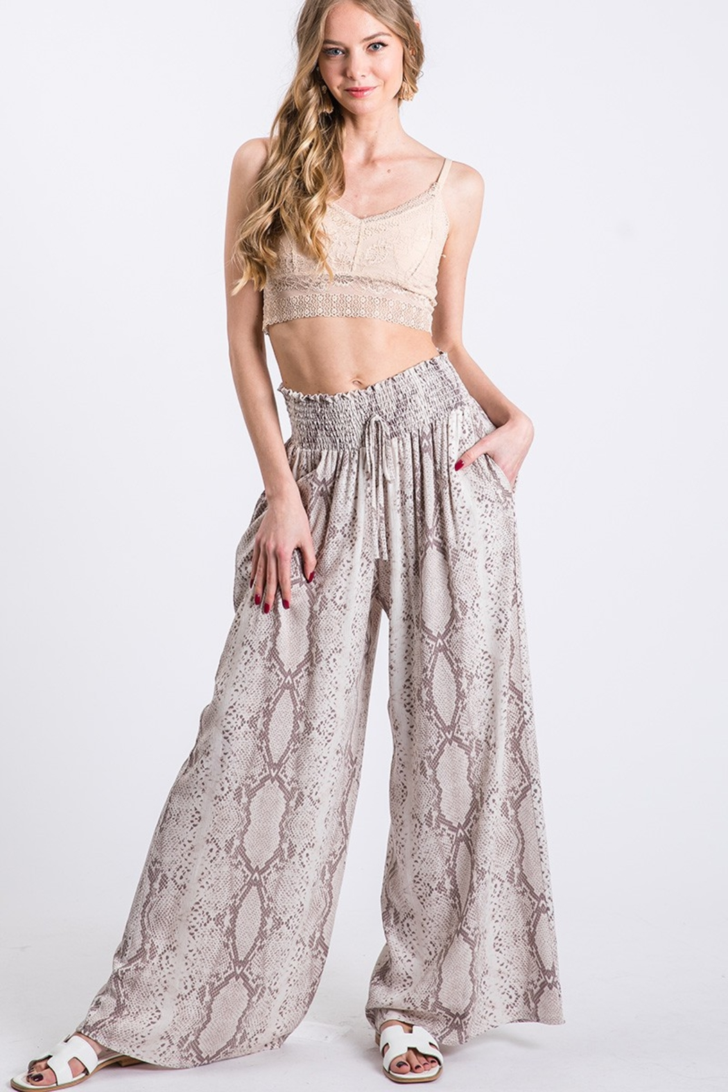 GeeGee Gigi Wide Leg Pants - Main Image