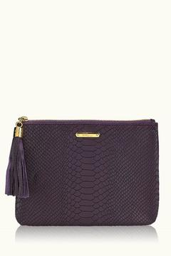 Gigi New York Embossed Python Clutch - Product List Image