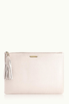 Shoptiques Product: Ivory Uber Clutch
