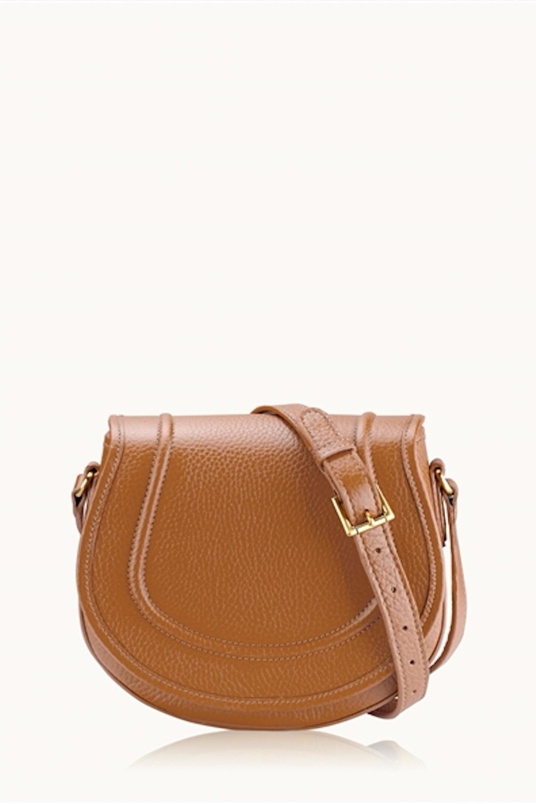 Gigi New York Jenni Saddle Bag - Front Full Image