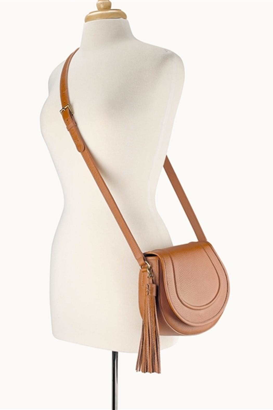 Gigi New York Jenni Saddle Bag - Back Cropped Image