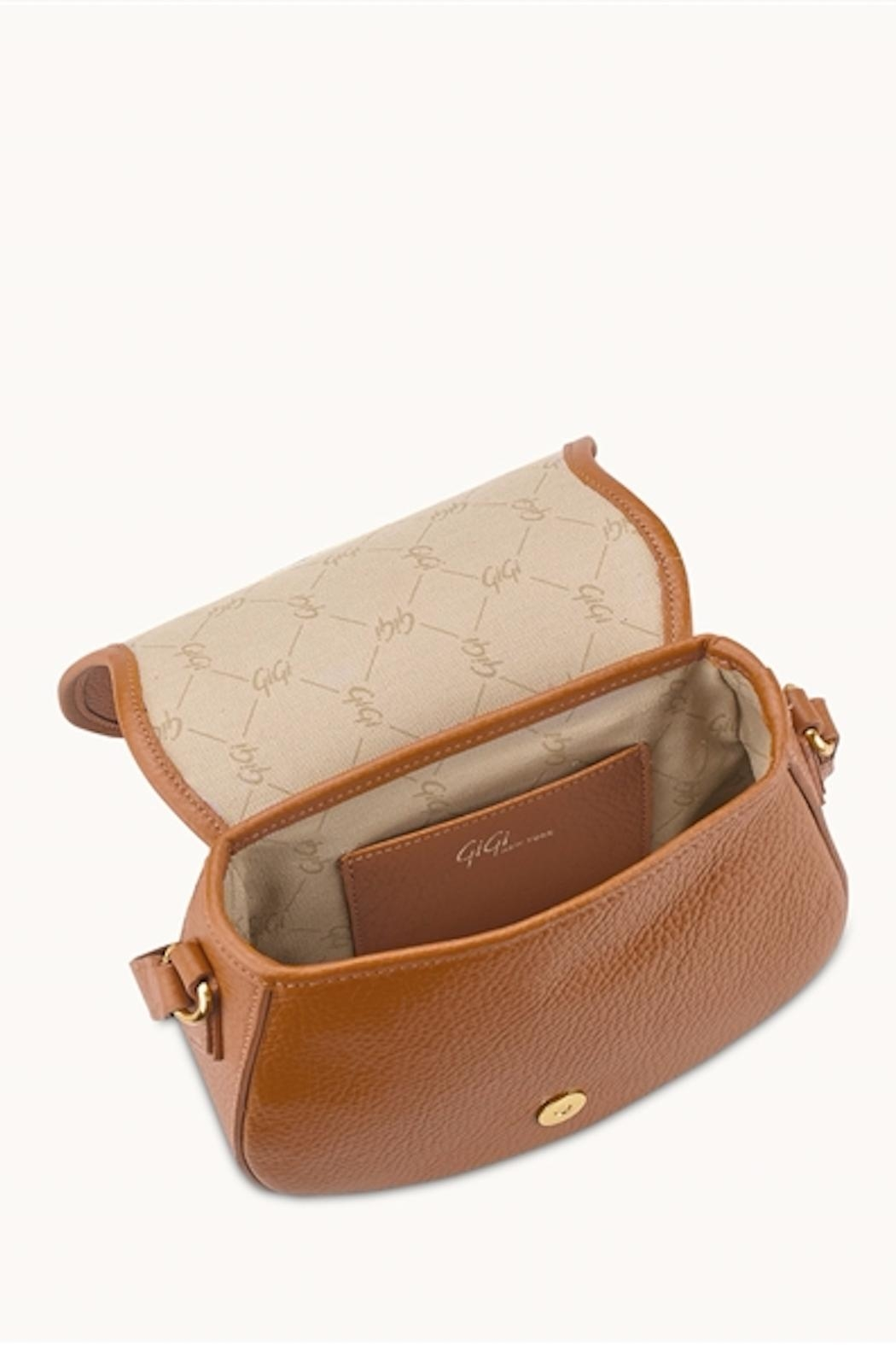 Gigi New York Jenni Saddle Bag - Side Cropped Image