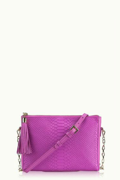 Shoptiques Product: Python Clutch Crossbody