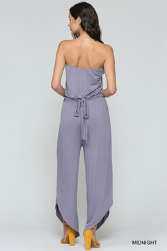 Gigio/BluHeaven Blouson Strapless Jumpsuit - Alternate List Image