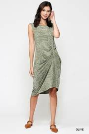Gigio/BluHeaven Sleeveless Draped Detail Midi Dress - Other