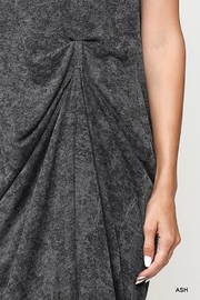 Gigio/BluHeaven Sleeveless Draped Detail Midi Dress - Side cropped