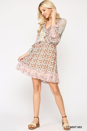 GiGiO Ditsy Floral Aesthetic Cottagecore Frilled Dress - Side cropped