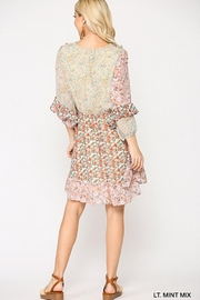 GiGiO Ditsy Floral Aesthetic Cottagecore Frilled Dress - Other
