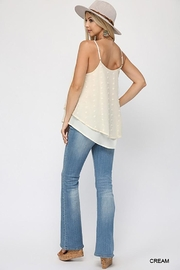 GiGiO Woven Dot Fabric Cami Top - Other