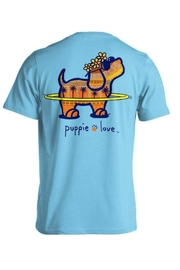 Gildan Puppielove Hawaii Tee - Product Mini Image