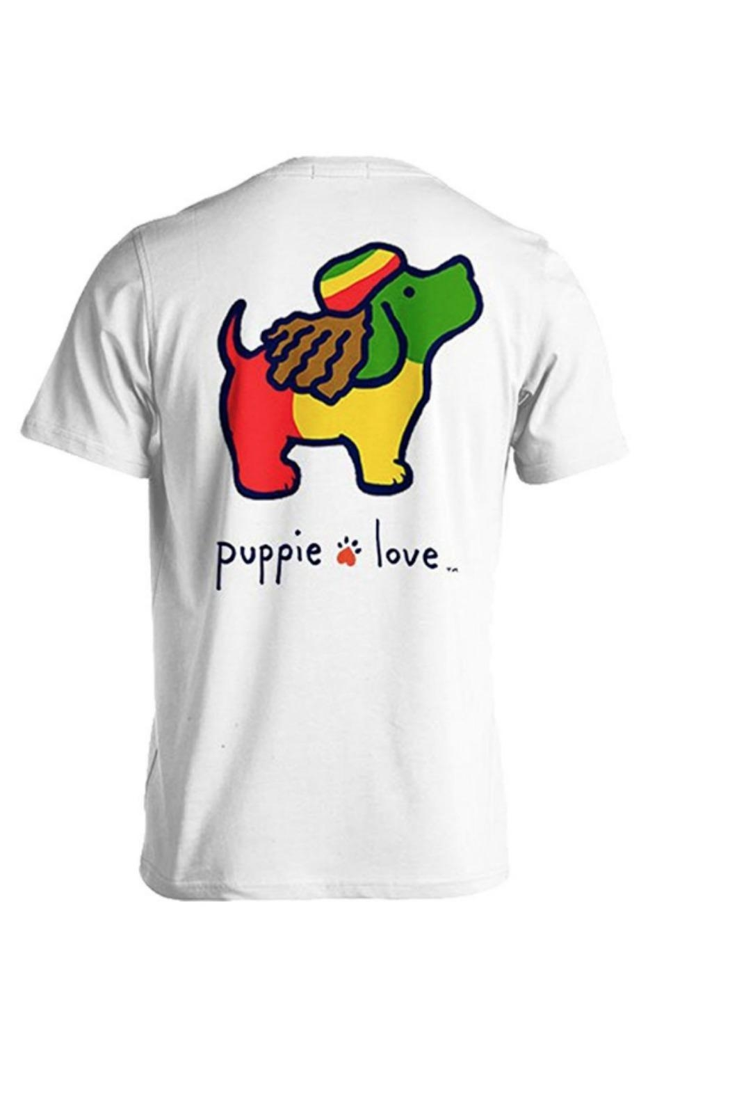 Gildan Puppielove Reggae Tee - Front Cropped Image