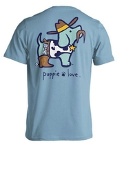 Gildan Puppielove Sheriff Tee - Product Mini Image