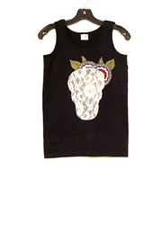 Gildan Skull Tank Top - Product Mini Image