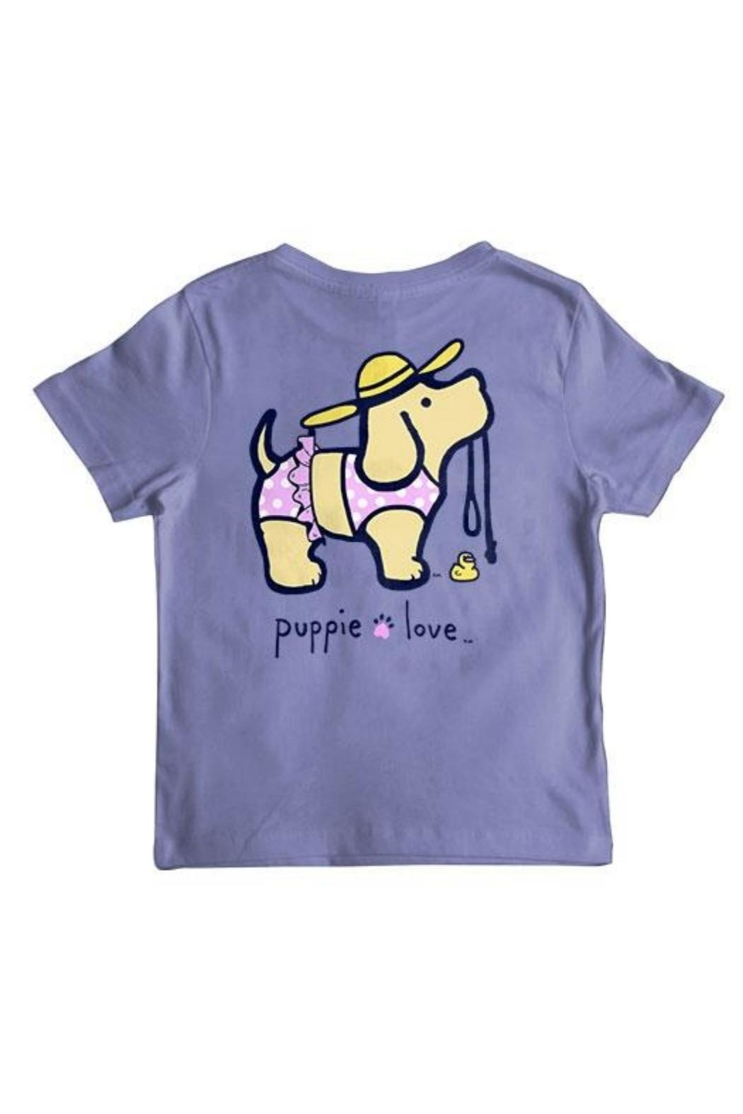 Gildan Youth Puppielove Tees - Front Cropped Image