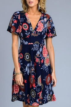 Shoptiques Product: Floral A-Line Dress