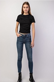 Gilli Black Knot Top - Product Mini Image
