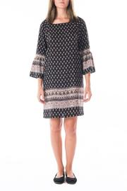 Gilli Black Patterned Shift Dress - Product Mini Image