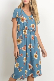 Gilli Blossom Midi Dress - Product Mini Image