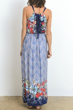 Gilli Blue Floral Dress - Alternate List Image