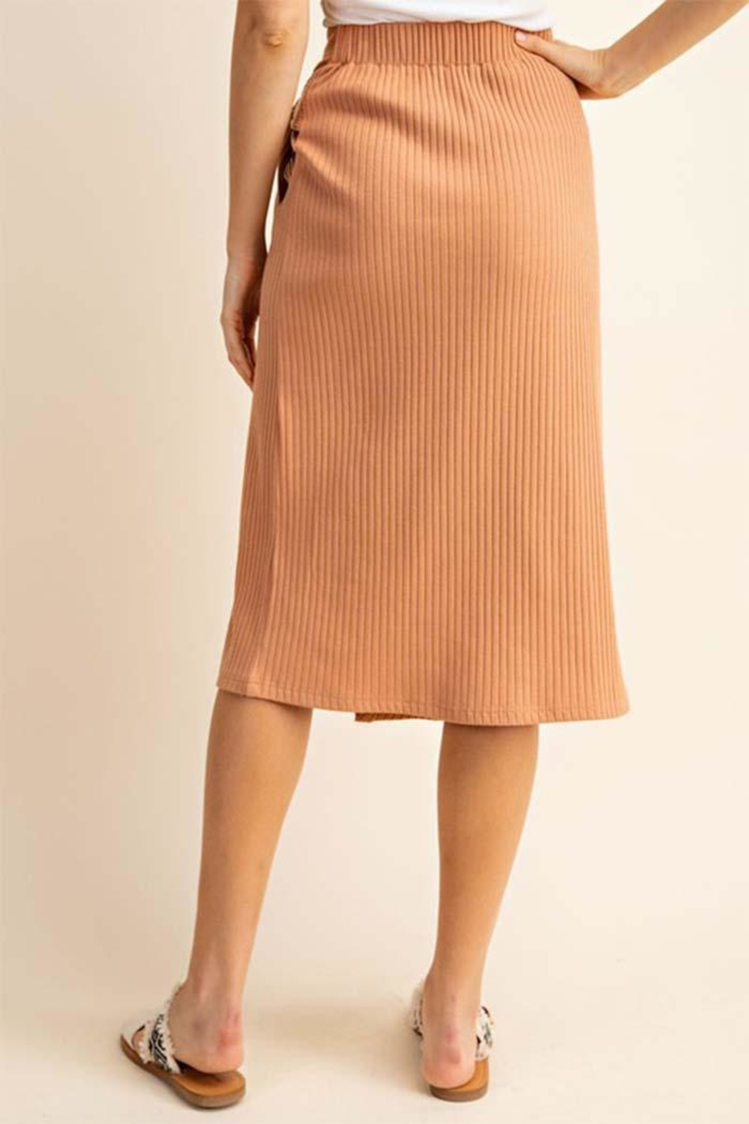 Gilli Buckle Tie Skirt - Side Cropped Image
