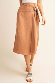 Gilli Buckle Tie Skirt - Front cropped