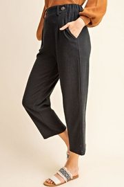 Gilli Button Detail Pants - Product Mini Image