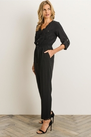 Gilli Button Front Jumpsuit - Side cropped