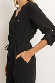 Gilli Button Front Jumpsuit - Front full body