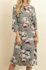 Le Lis Casual Midi Dress - Front cropped