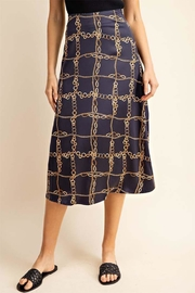 Gilli Chain Link Skirt - Front cropped