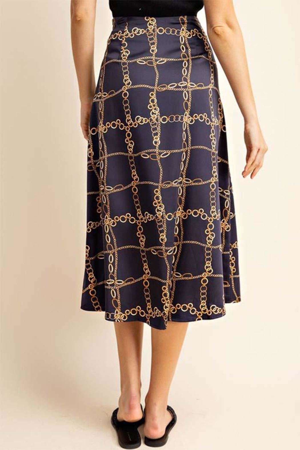 Gilli Chain Link Skirt - Side Cropped Image