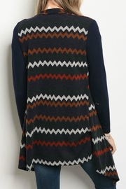 Gilli Chevron Cardigan - Front full body