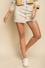 Gilli Colorblock Mini Skirt - Product Mini Image