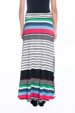 Shoptiques Product: Colorful Striped Skirt