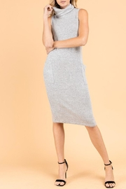 Gilli Cowl-Neck Midi Dress - Product Mini Image