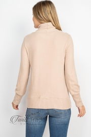 Gilli Cowl Neck Sweater - Back cropped