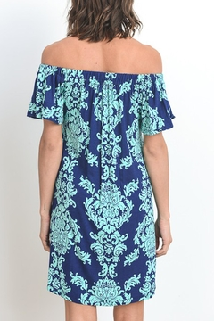 Gilli Damask Off Shoulder Dress - Alternate List Image