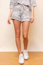 Gilli Drawstring Tie-Dye Shorts - Product Mini Image