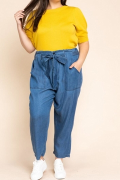 Gilli Essential Tie-Waist Denim - Product List Image