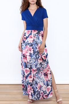 Shoptiques Product: Blue Floral Maxi Dress