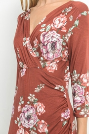 Gilli Floral Faux-Wrap-Bodycon Dress - Other