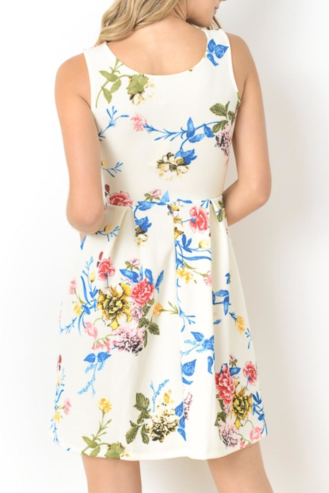 Gilli Floral Fit-And-Flare - Front Full Image