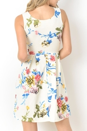 Gilli Floral Fit-And-Flare - Front full body