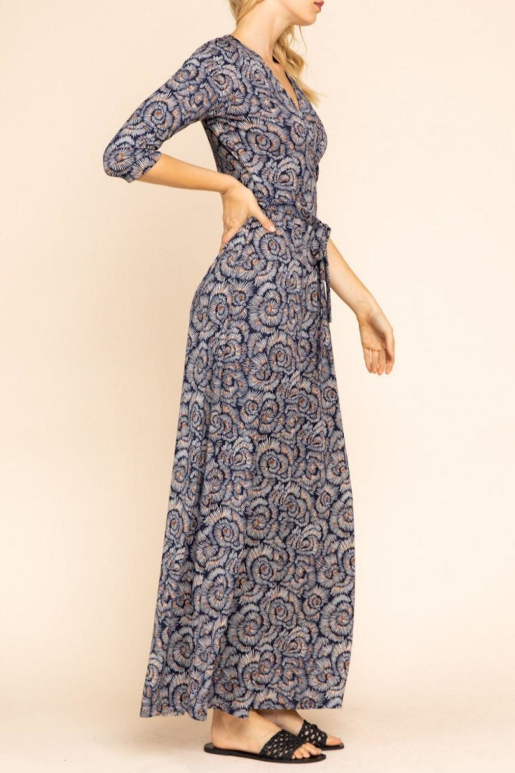 Gilli Floral Maxi Dress - Front Full Image