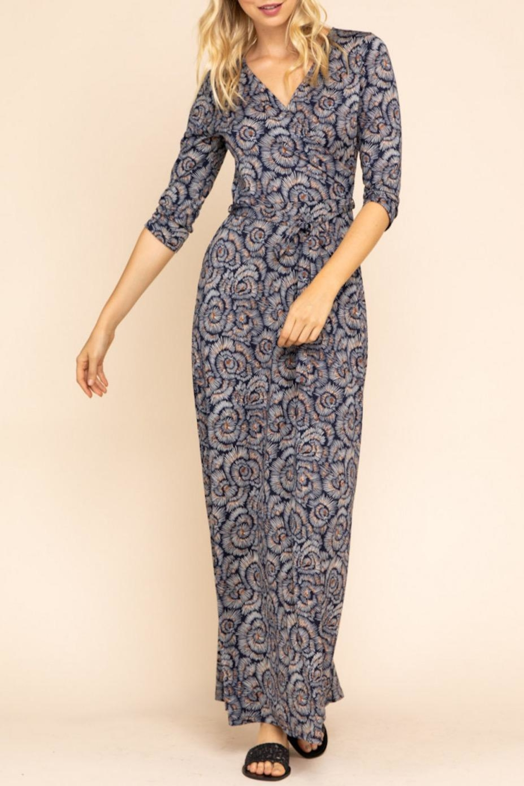 Gilli Floral Maxi Dress - Front Cropped Image