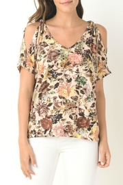 Gilli Floral Print Top - Product Mini Image