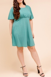 Gilli Flutter Sleeve Dress - Product Mini Image