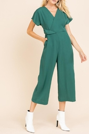 Gilli Flutter Sleeve Jumpsuit - Product Mini Image
