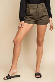 Gilli Folded Hem Shorts - Product Mini Image