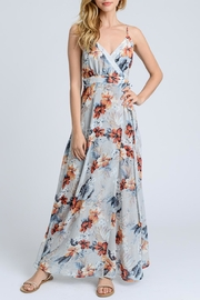 Gilli Grey Floral Maxi - Product Mini Image
